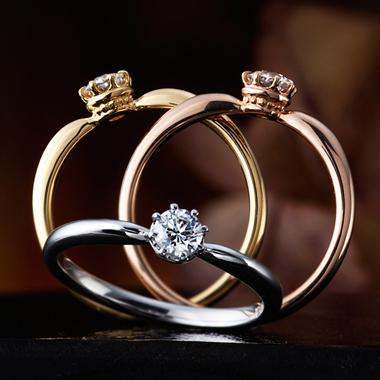 婚約指輪のデージー