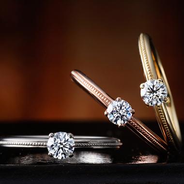 婚約指輪のカンパニュラ