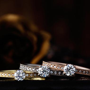 婚約指輪のベゴニア