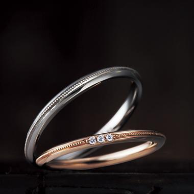 結婚指輪のカンパニュラ