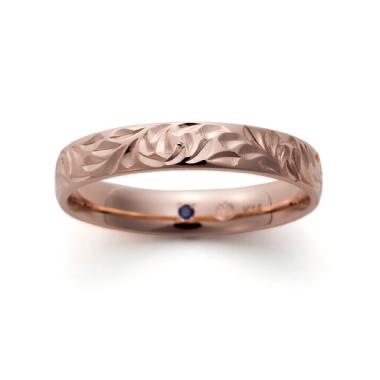 ハワイアン 結婚指輪のK14ゴールドタイプ