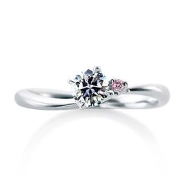 婚約指輪のローズヒップ デュー