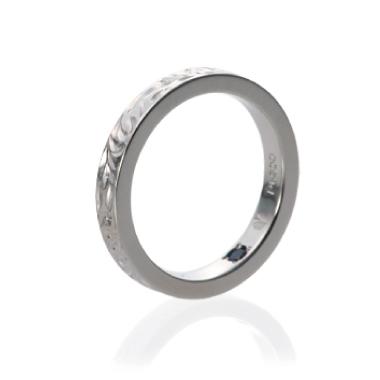 ハワイアン 結婚指輪のスリムタイプ