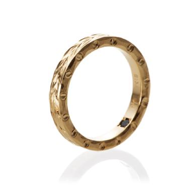 シンプル,ハワイアン 結婚指輪のスリムタイプ