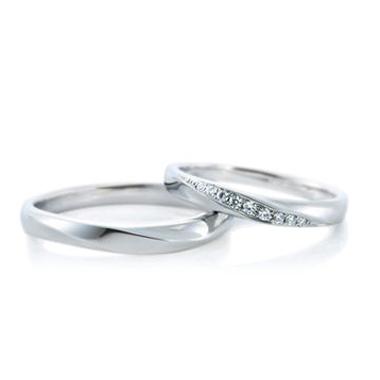 結婚指輪のウィ