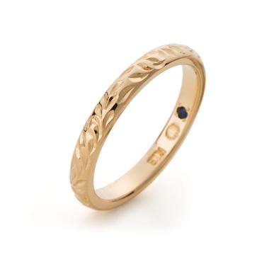 ハワイアン 結婚指輪のバレルタイプ