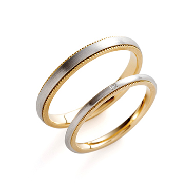 フェミニン 結婚指輪のaiuola