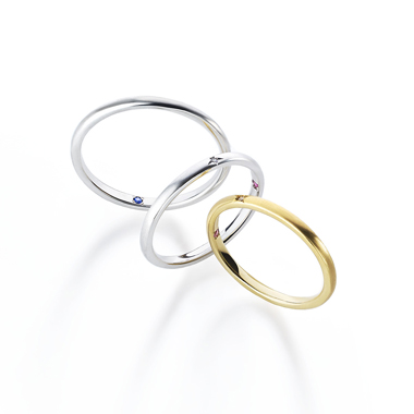 フェミニン,ゴージャス 結婚指輪のスクレノヴァリング・ノヴァリング