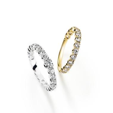 フェミニン,ゴージャス 婚約指輪のフォルトゥナリング・デューリング