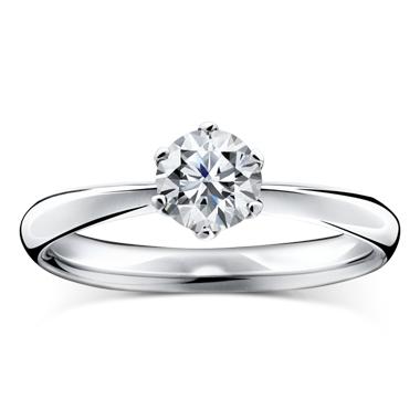 シンプル 婚約指輪のカリヨン