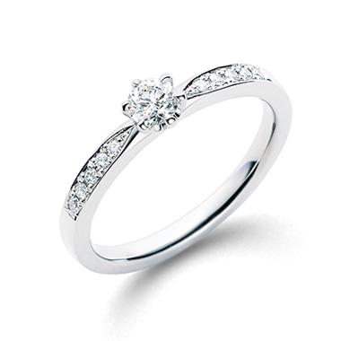 個性的 婚約指輪の千幸