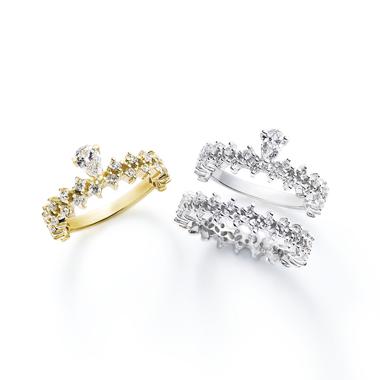 フェミニン,ゴージャス 婚約指輪のプリマヴェーラ・プリマヴェーラエタニティリング