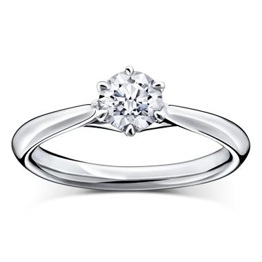 シンプル 婚約指輪のマチルダ