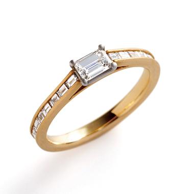 フェミニン 婚約指輪のaiuola