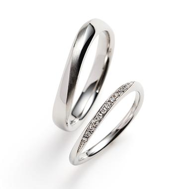 結婚指輪のflow