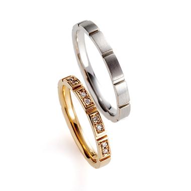 結婚指輪のponte