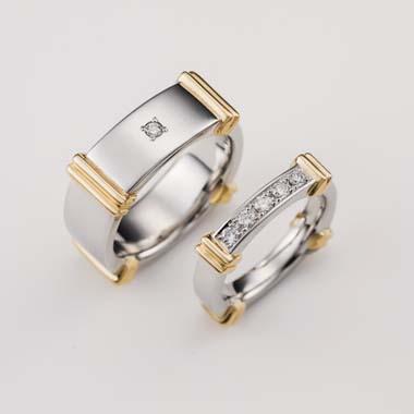 ゴージャス 結婚指輪のA-1-Mar-M_A-2-Mar-L1
