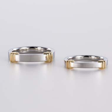 ゴージャス 結婚指輪のA-3-Mar