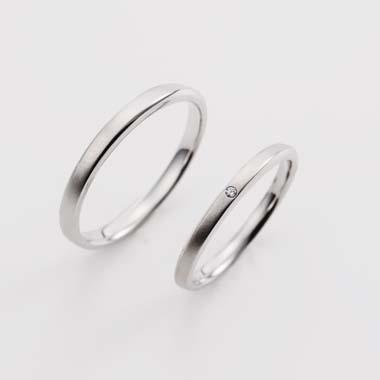シンプル 結婚指輪のBa-2-Mar-M/Ba-2-Mar-L
