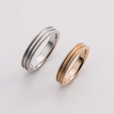 アンティーク 結婚指輪のE-3-Mar-M/E-3-Mar-L