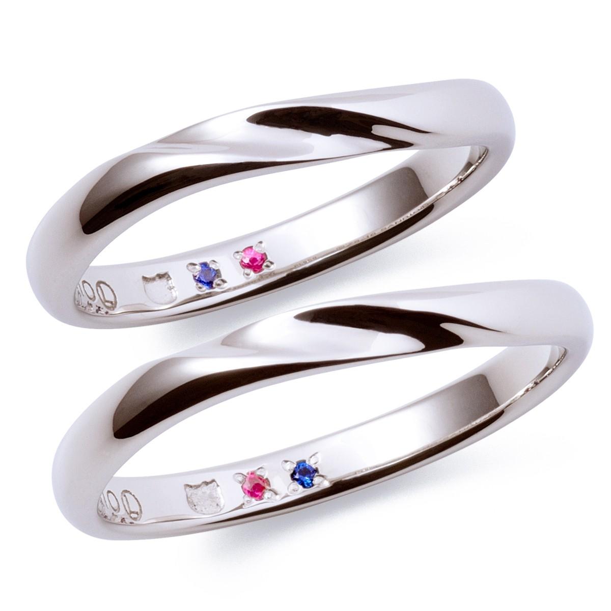 フェミニン 結婚指輪のKT-7061117002-7061117012