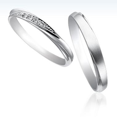 シンプル 結婚指輪のSB-826/SB-827