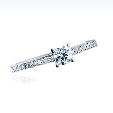 シンプル 婚約指輪のSBE010