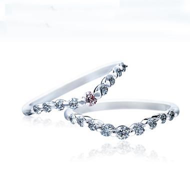シンプル 結婚指輪のSBM112/SBM109