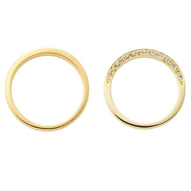 シンプル 結婚指輪のEclat