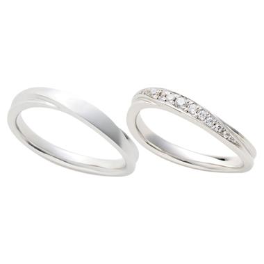 シンプル 結婚指輪のChaleur