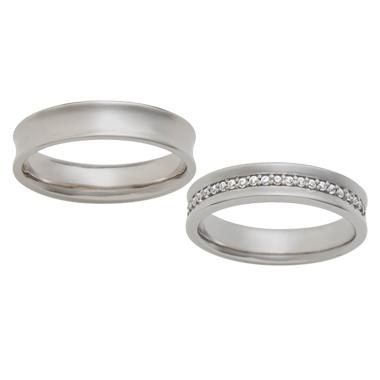 シンプル 結婚指輪のBonheur