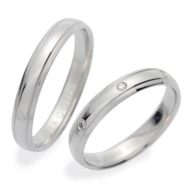 シンプル 結婚指輪のVA00902H/VA01000H