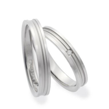 シンプル 結婚指輪のVA01302H/VA01400H
