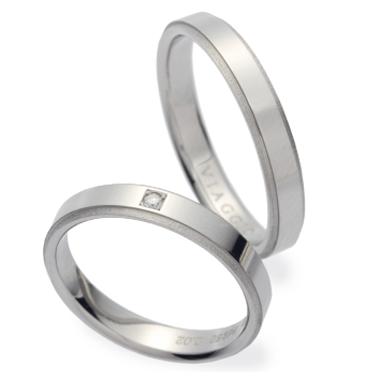 シンプル 結婚指輪のVA01502B/VA01600B