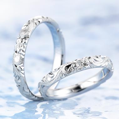 ハワイアン 結婚指輪のマイレ