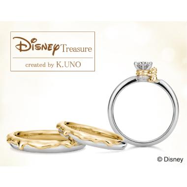 フェミニン,ゴージャス,個性的 婚約指輪のくまのプーさん
