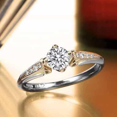 ゴージャス 婚約指輪のポン・ヌフ
