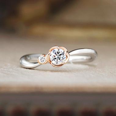 アンティーク,個性的 婚約指輪のベルフェ