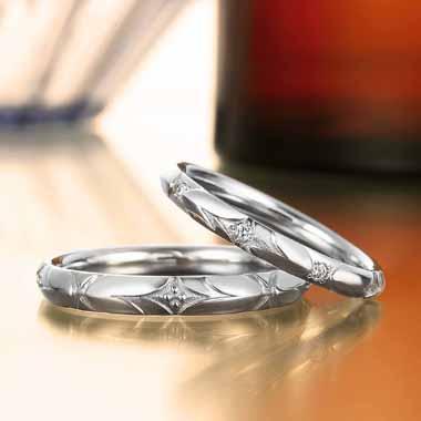 ゴージャス 結婚指輪のモンマルトル