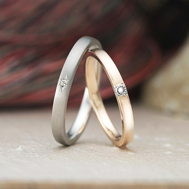 アンティーク 結婚指輪のルフテル