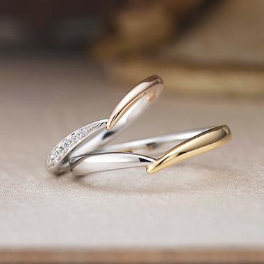 アンティーク 結婚指輪のベルフェ