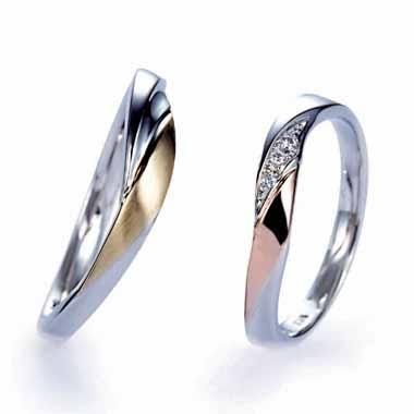 ゴージャス 結婚指輪のナンフェア