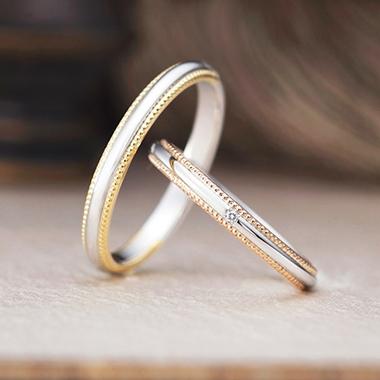 アンティーク 結婚指輪のトゥクパティ