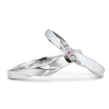 フェミニン 結婚指輪のシャルメ