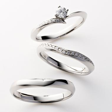 シンプル 結婚指輪のCOLINA