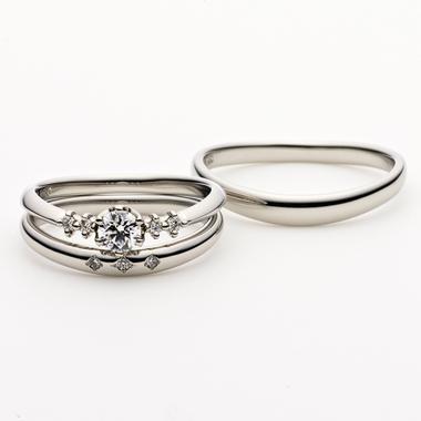 シンプル 結婚指輪のESQUINA