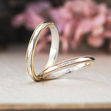 アンティーク 結婚指輪のアッシェマ・チュリテ