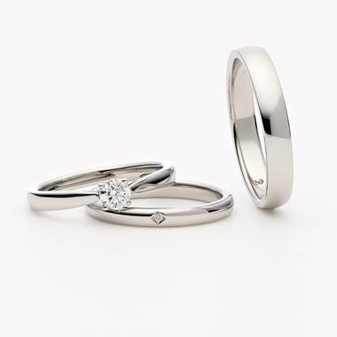 シンプル 結婚指輪のLYS