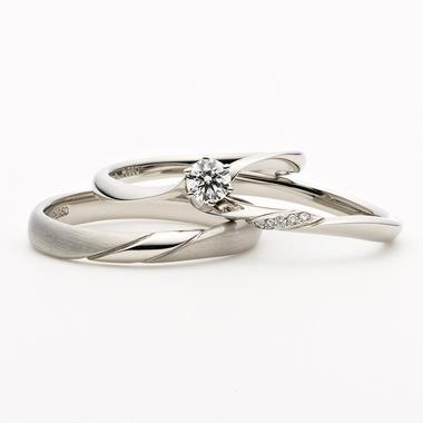 シンプル 結婚指輪のNOCTURNE