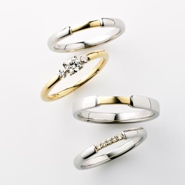 シンプル 結婚指輪のPUENTE